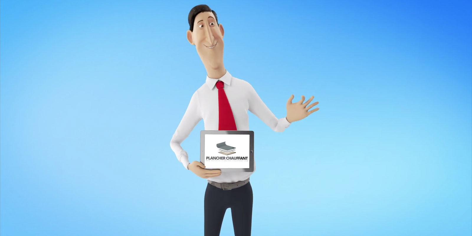 Marketing vidéo - Matériel Plancher Chauffant