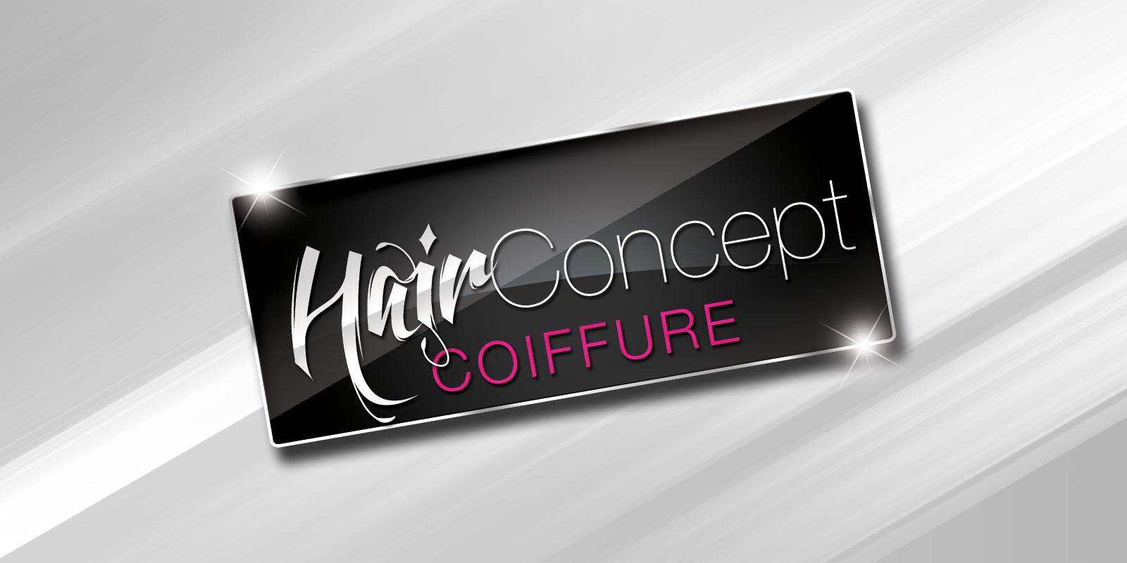 Identité visuelle - Logo Hair Concept