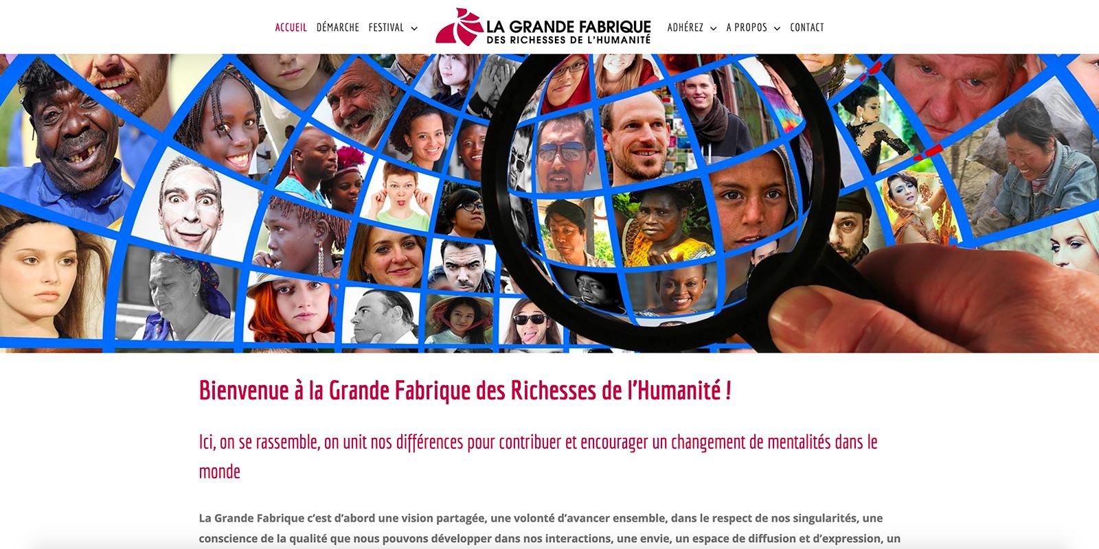 Référence - Association La Grande Fabrique - Netcom Agency - Communication numérique